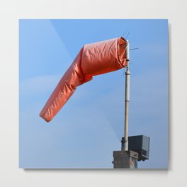 Windsock Schellville Sonoma Valley Metal Print