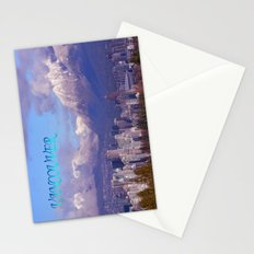 Downtown Vancouver Panorama Stationery Cards