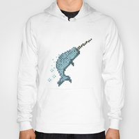narwhal Hoodies featuring Narwhal by Tamm + Kit
