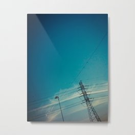 Lines and the sky Metal Print