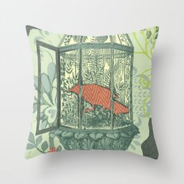 Bird Set Free Throw Pillow