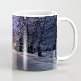 A Walk on a Winter Evening Coffee Mug