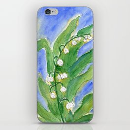 Lilly Of The Valley (Convallaria majalis) iPhone Skin