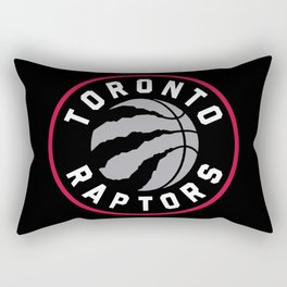Toronto Raptor Logo Rectangular Pillow