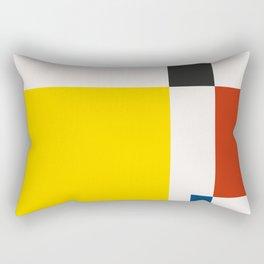 Mid Century Modern Vintage 21 Rectangular Pillow