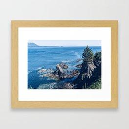 Alaska Cliff pt.2 Framed Art Print