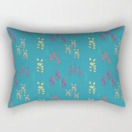 Foxglove love Rectangular Pillow