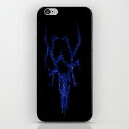 Wendigo Blue iPhone Skin