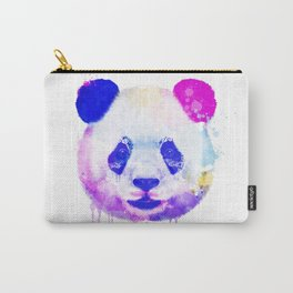 Panda Watercolor, Panda Print, Watercolor Print, Watercolor Animal, Panda Painting, Panda Gift Print Carry-All Pouch