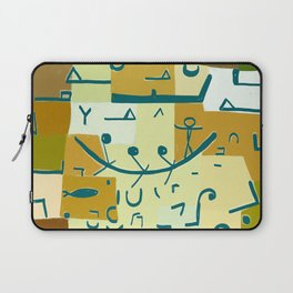 Paul Klee Inspired - The Nile #3 Laptop Sleeve