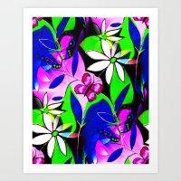 botanical Art Prints featuring Botanical by Sartoris ART