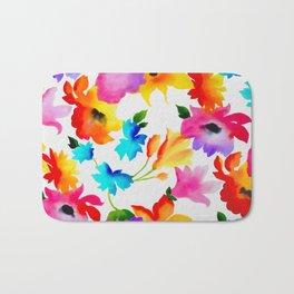 Dancing Floral Bath Mat