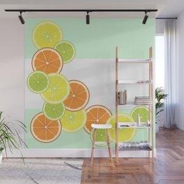 Citrus Fruits Wall Mural