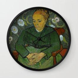 La Berceuse (Portrait of Madame Roulin) Wall Clock