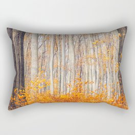 orange autumn Rectangular Pillow