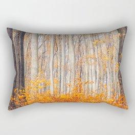 orange autumn Rectangular Pillow