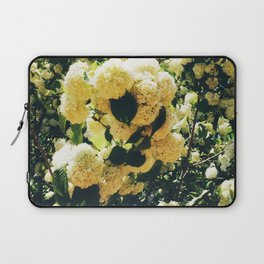 Yellow Snowballs Laptop Sleeve