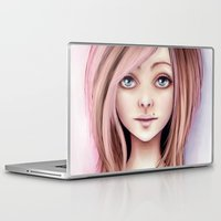 doll Laptop & iPad Skins featuring Doll by Stephanie W