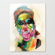 The human beast Canvas Print