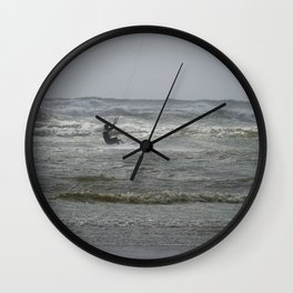 Kite surf Wall Clock