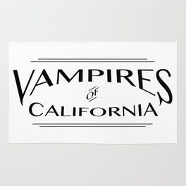 Vampires Of California Rug