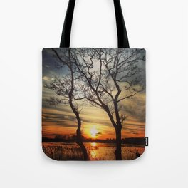 Natural Picture Frame Tote Bag