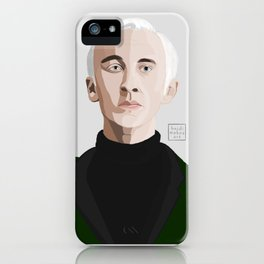 Malfoy iPhone Case
