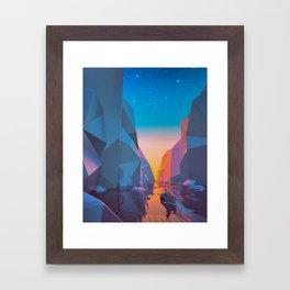 SHIP SAILED (everyday 03.26.16) Framed Art Print