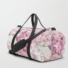 A bunch of peonies Duffle Bag