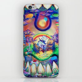 buried treasure iPhone Skin