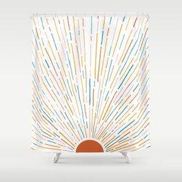 Sunshine All Around Shower Curtain
