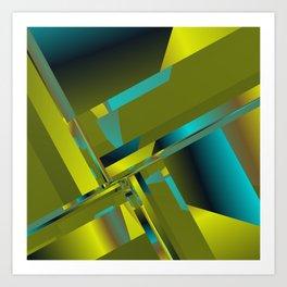 geometric pattern -7- Kunstdrucke