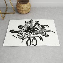 Blades & Scissors Rug