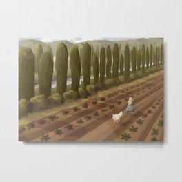 Mu's Farm Metal Print