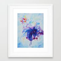 fairy tale Framed Art Prints featuring Fairy Tale by Maria Lozano - Art