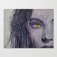 siren Canvas Prints featuring Siren by Michael Creese