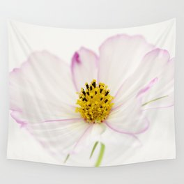 Sensation Cosmos White Bloom Wall Tapestry