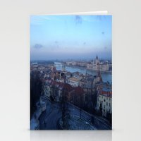 budapest Stationery Cards featuring Budapest by Nikki Morgan
