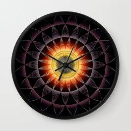 Black Hole Sun2018 Wall Clock