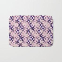 Pink & Purple Quatrfoil Bath Mat