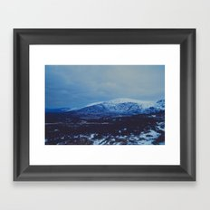 Wicklow in the Snow Framed Art Print