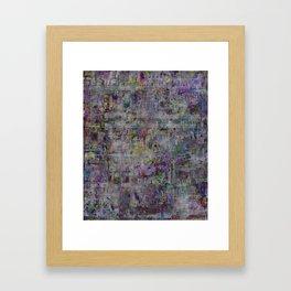 Random 518  Framed Art Print