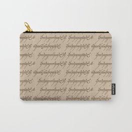 Elvish // Tan Carry-All Pouch