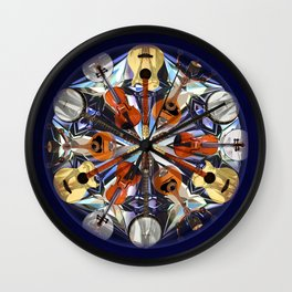 Musical Kaleidoscope  Wall Clock