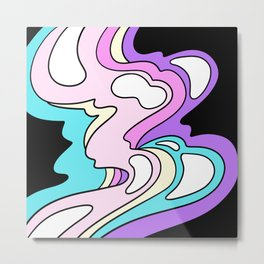 melty bubblegum Metal Print