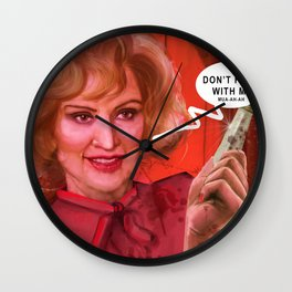 Don't fuck with the Lange Wall Clock