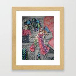 The Watchers Framed Art Print
