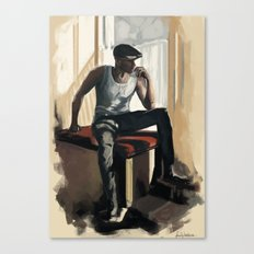 Gustaf Canvas Print