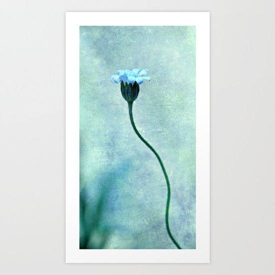 miss bleu Art Print