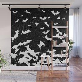 Bats Wall Mural